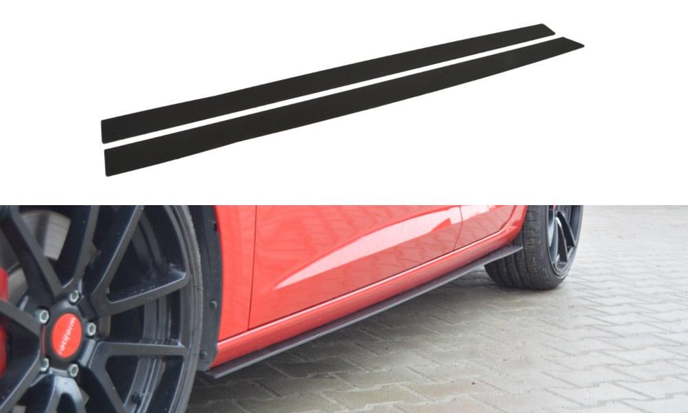Dokładki Progów Racing Seat Leon III Cupra / FR - GRUBYGARAGE - Sklep Tuningowy